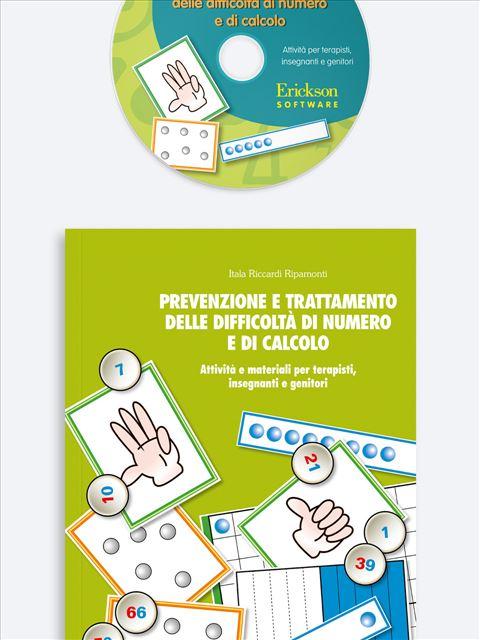 Prevenzione e trattamento delle difficoltà di numero e di calcolo - App e software per Scuola, Autismo, Dislessia e DSA - Erickson 2