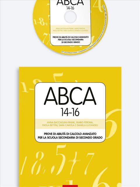 Test ABCA 14-16 - Valutazione educativo-didattica - Erickson