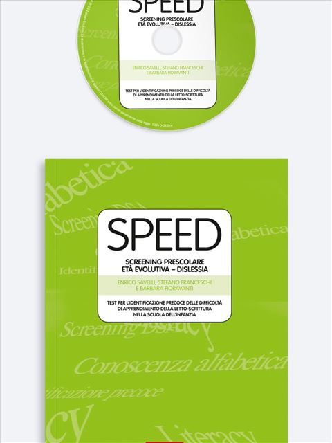SPEED Screening Prescolare Età Evolutiva - DISLESSIA - Disturbi Evolutivi Specifici di Apprendimento - Libri - Erickson