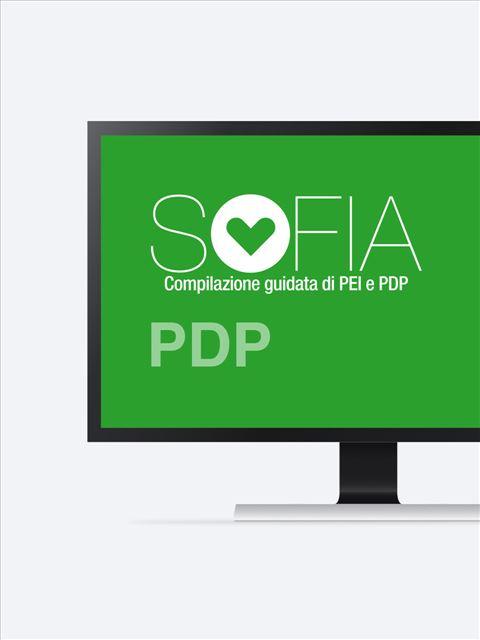 SOFIA -  compilazione PDP Accesso piattaforma - 5 PDP - Erickson Eshop