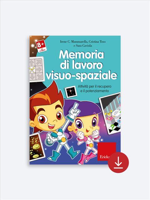 Memoria di lavoro visuo-spaziale - App e software per Scuola, Autismo, Dislessia e DSA - Erickson 2