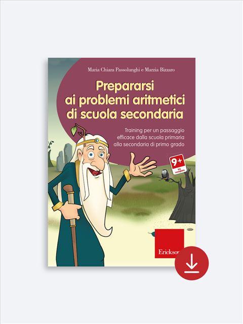 Prepararsi ai problemi aritmetici di scuola secondaria - App e software per Scuola, Autismo, Dislessia e DSA - Erickson 2