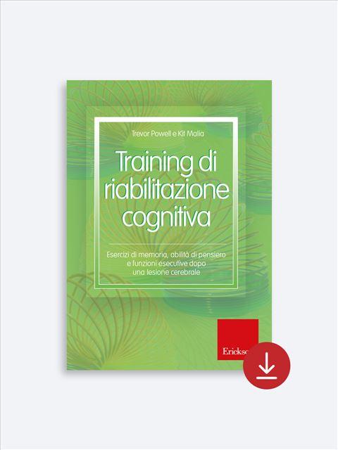 Training di riabilitazione cognitiva - Libri su Anziani con Alzheimer e demenze - Erickson 2