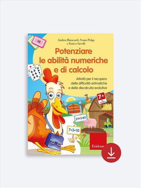 Potenziare le abilità numeriche e di calcolo - Risolvere problemi aritmetici - Libri - App e software - Erickson 2