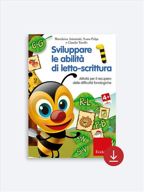 Sviluppare le abilità di letto-scrittura 1 - Storie... senza fine - Libri - App e software - Erickson 2