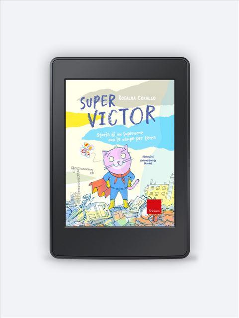 Super Victor - narrativa psicologicamente orientata - Erickson