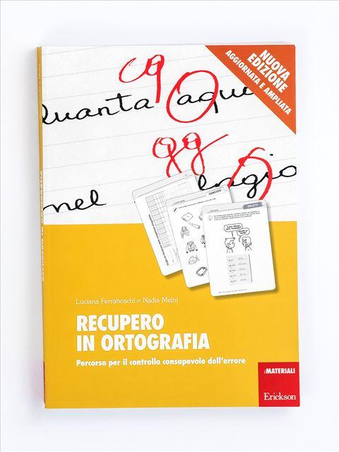 Recupero in ortografia - Libri - App e software - Erickson 7
