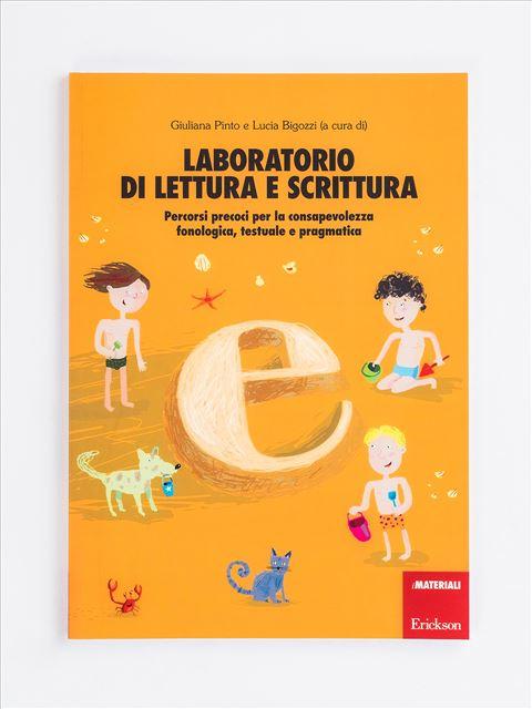 Laboratorio di lettura e scrittura - Strategie di lettura metacognitiva - Libri - Erickson
