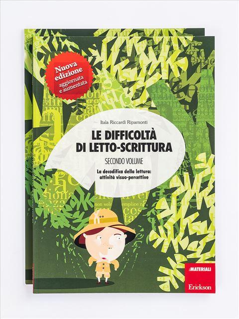 Le difficoltà di letto-scrittura - Volume 2 Libro - Erickson Eshop