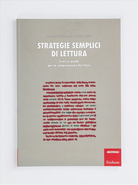 Strategie semplici di lettura - Strategie di lettura metacognitiva - Libri - Erickson