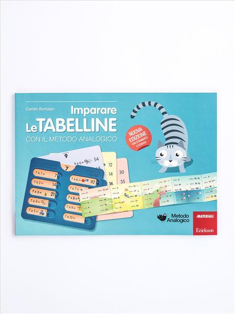 Imparare le tabelline con il metodo analogico - App e software per Scuola, Autismo, Dislessia e DSA - Erickson 3