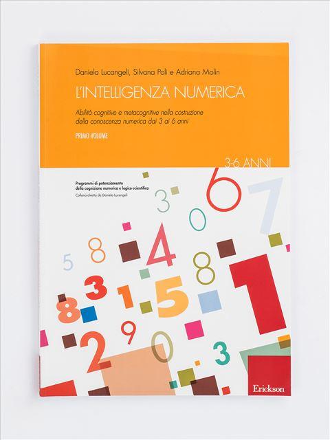 L'intelligenza numerica - Volume 1 Libro - Erickson Eshop