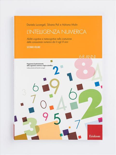 L'intelligenza numerica - Volume 2 - Discalculia test - App e software - Erickson