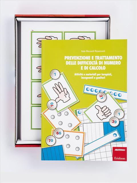 Prevenzione e trattamento delle difficoltà di nume - Libri - App e software - Erickson