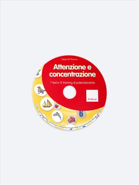 Attenzione e concentrazione - Memoria attenzione e concentrazione - Erickson