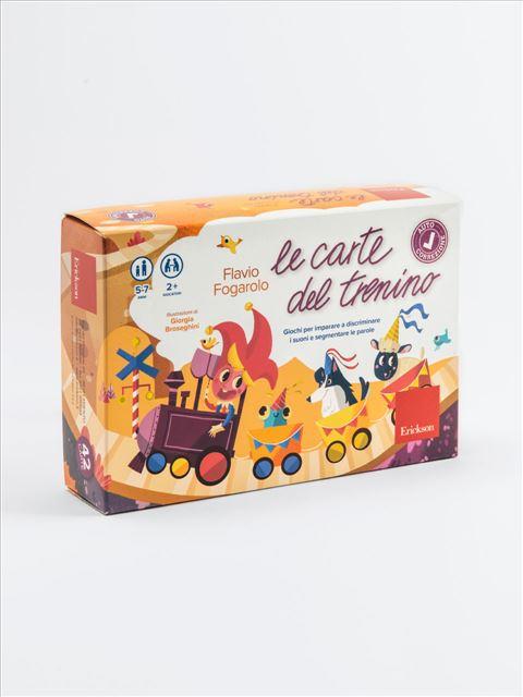 Le carte del trenino - Giochi Educativi, istruttivi e divertenti per bambini - Erickson