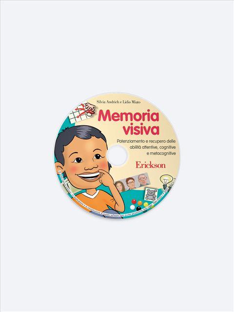 Memoria visiva - Memoria attenzione e concentrazione - Erickson