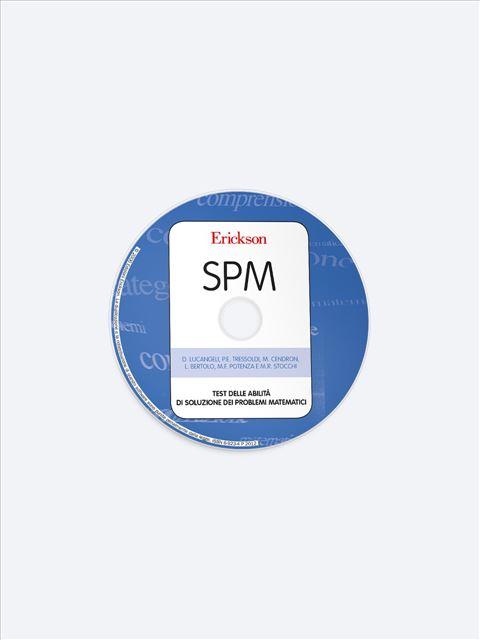 Test SPM - Abilità di soluzione dei problemi matematici - Discalculia test - App e software - Erickson 2