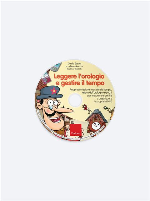 Imparo a... leggere l'orologio - Abilità cognitive - Erickson 2