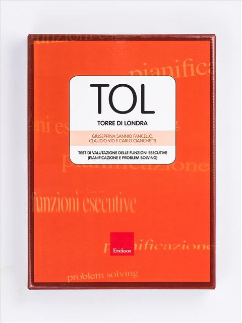 Test TOL - Torre di Londra (Test di valutazione delle funzioni esecutive) - TAP-D - Test delle Abilità Prassiche nella Disabil - Libri - Erickson