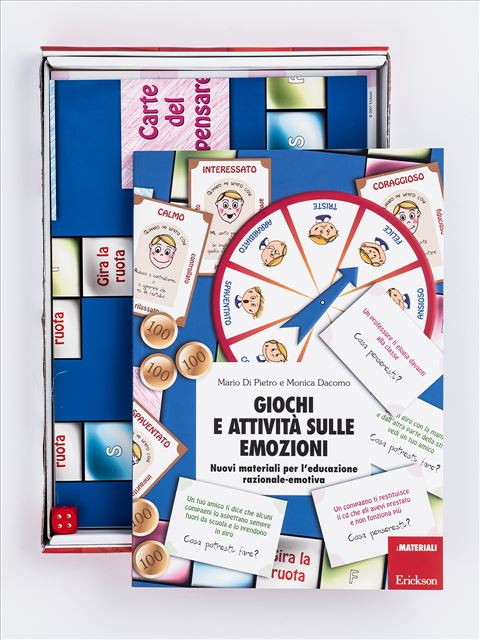 Giochi e attività sulle emozioni - Disturbi ipercinetici e della condotta (bullismo) - Erickson
