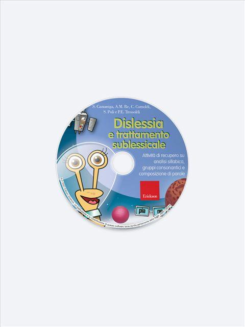 Dislessia e trattamento sublessicale - Lettura di base 1 - App e software - Erickson 2