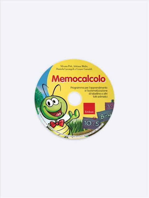 Memocalcolo - App e software per Scuola, Autismo, Dislessia e DSA - Erickson 2