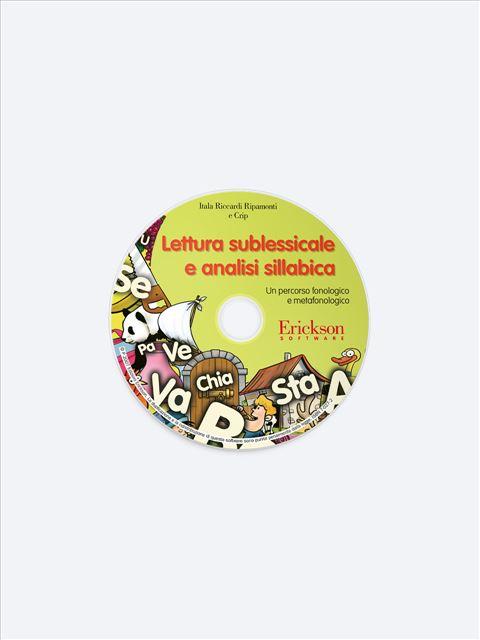 Lettura sublessicale e analisi sillabica - App e software - Erickson