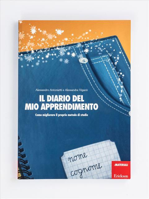 Il diario del mio apprendimento - Abilità / metodo di studio - Erickson