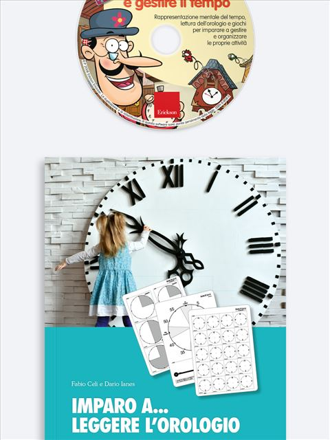 Imparo a... leggere l'orologio - Abilità cognitive - Erickson 3