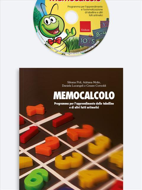 Memocalcolo - App e software per Scuola, Autismo, Dislessia e DSA - Erickson 3