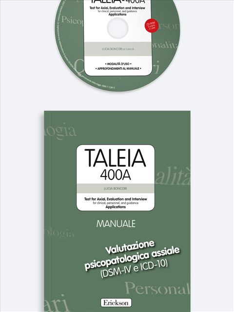 TALEIA-400A - Test for Axial Evaluation and Interv - Libri - App e software - Strumenti - Erickson