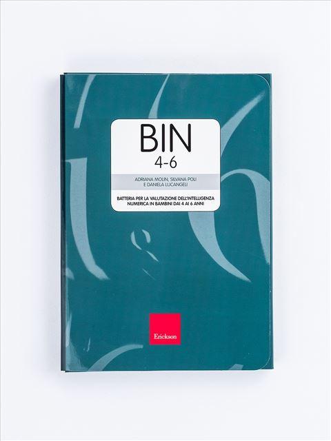 BIN 4-6 - Batteria per la valutazione dell'intelligenza numerica - Test diagnosi autismo, asperger, dislessia e altri DSA - Erickson