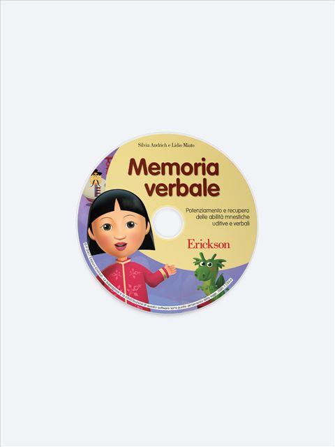 Memoria verbale - App e software per Scuola, Autismo, Dislessia e DSA - Erickson