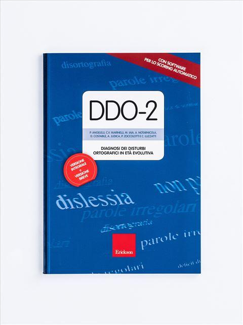 Test DDO-2 - Test diagnosi autismo, asperger, dislessia e altri DSA - Erickson