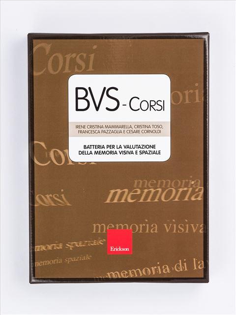 BVS - Corsi - Batteria per la valutazione della memoria visiva e spaziale - Test neuropsicologici di memoria visiva e spaziale