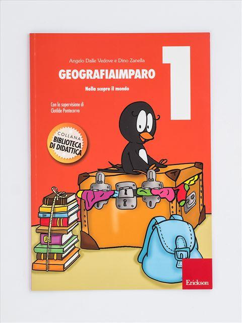 GeografiaImparo 1 - Libri - Erickson