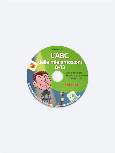 L'ABC delle mie emozioni - 8-13 anni - App e software per Scuola, Autismo, Dislessia e DSA - Erickson 2