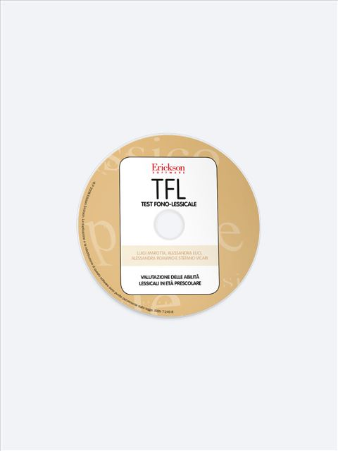 TFL Test fono-lessicale - Test diagnosi autismo, asperger, dislessia e altri DSA - Erickson 2