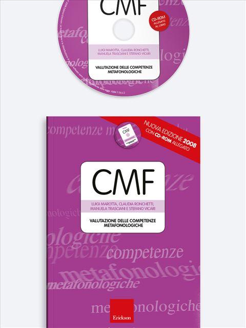 Test CMF - Valutazione delle competenze metafonologiche - Test diagnosi autismo, asperger, dislessia e altri DSA - Erickson