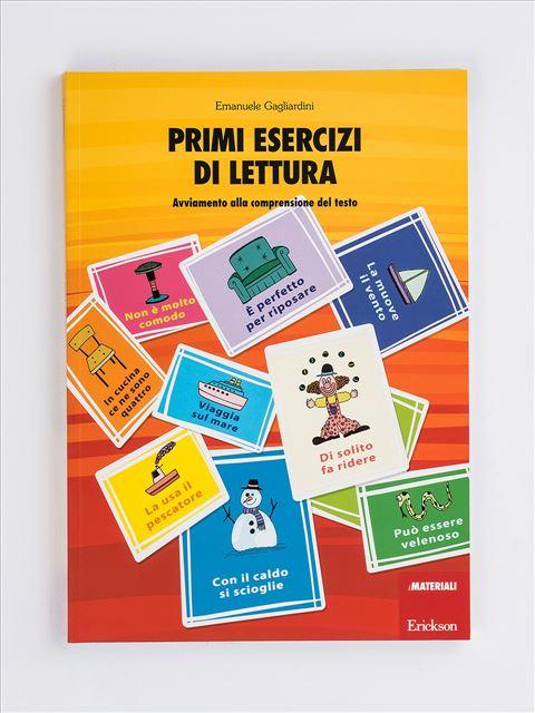 Primi Esercizi Di Lettura Libri App E Software Erickson