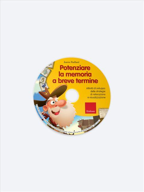 Potenziare la memoria a breve termine - Memoria attenzione e concentrazione - Erickson 2