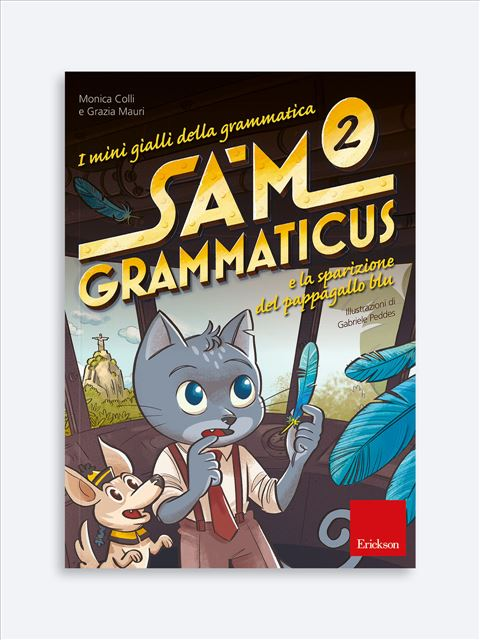 I mini gialli della grammatica 2 - Libri per i compiti delle vacanze | Classe seconda elementare