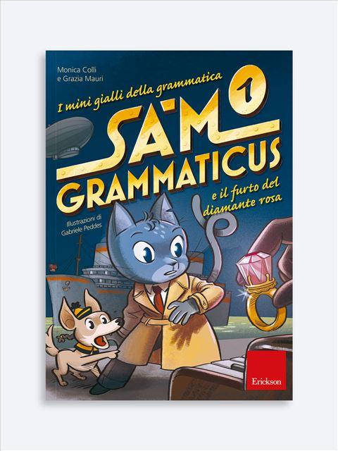 I mini gialli della grammatica 1 - Libri per i compiti delle vacanze | Classe seconda elementare