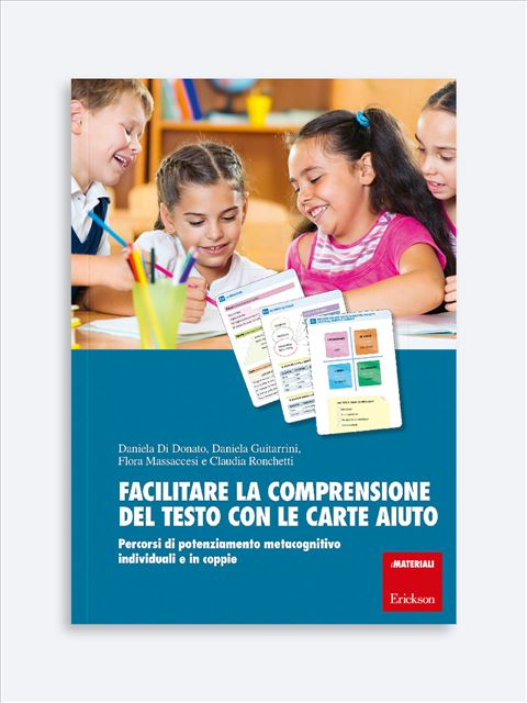 Facilitare la comprensione del testo con le carte-aiuto - Libri sulla Difficoltà di Linguaggio – Erickson