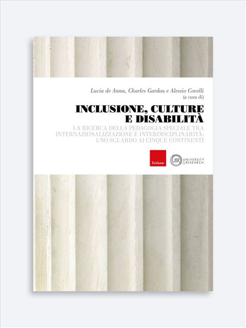 Inclusione, culture e disabilità - Docente / Ricercatore universitario - Erickson