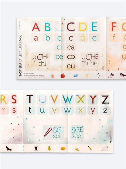 Tastiera di lettura Maxi - Metodo Analogico Bortolato: libri per matematica e italiano - Erickson