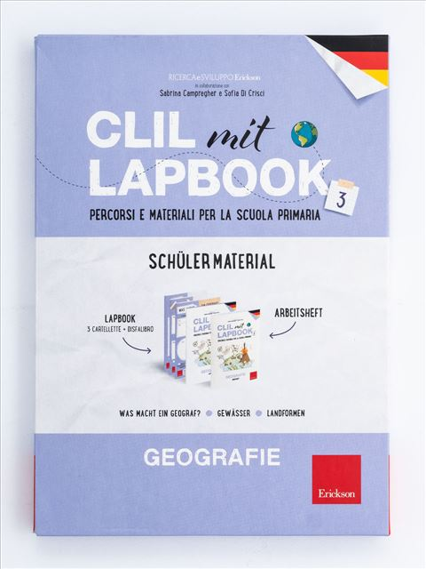 CLIL mit LAPBOOK - Geografie - Classe terza - Libri - Erickson 4