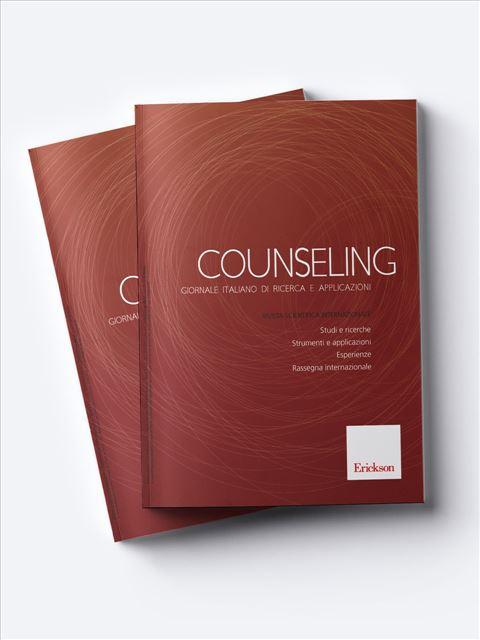 Counseling - Lavorare con le famiglie nella tutela minorile - Libri - Erickson