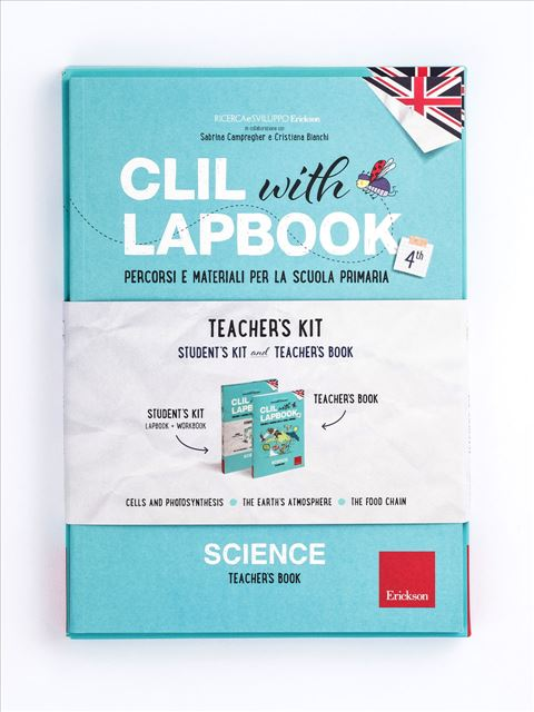 CLIL with LAPBOOK - SCIENCE - Classe quarta - Scienze - Erickson